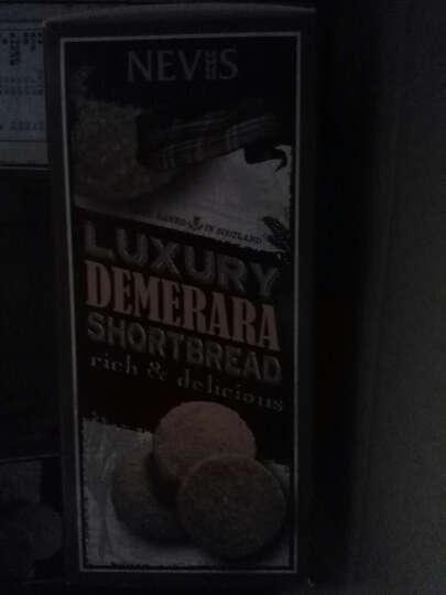 英国进口 Nevis 哈得斯 苏格兰优质黄油红糖酥饼 200g 盒装 晒单图
