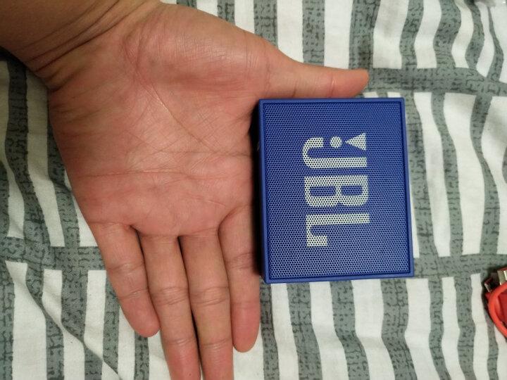 JBL GO 音乐金砖 便携式蓝牙音箱 低音炮 户外音箱 迷你小音响 可免提通话 爵士黑 晒单图
