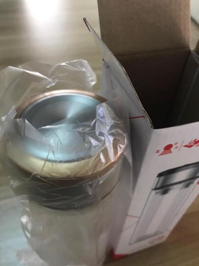 富光双层玻璃杯子耐热创意随手泡茶杯过滤透明带盖便携水杯男女士商务办公茶杯隔热杯子 黑色420ml 晒单图