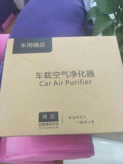 绿度OZ-60汽车车载空气净化器除甲醛车内负离子氧吧车用烟味异味PM2.5 黑色 晒单图