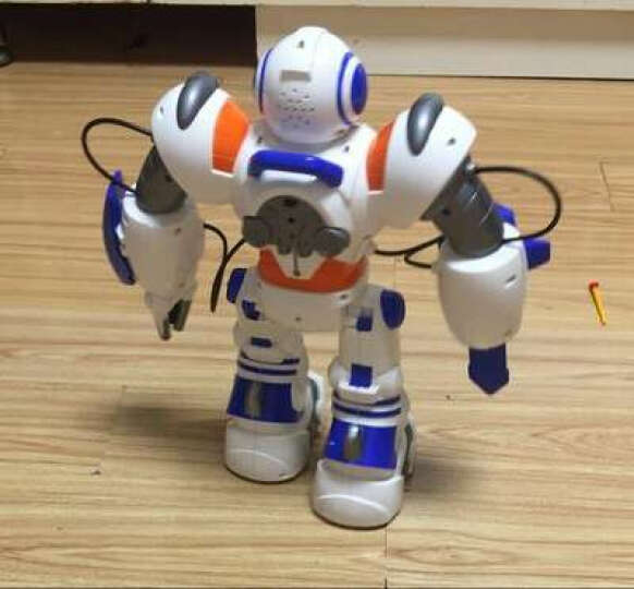 美致模型 美致智能机器人玩具 儿童遥控电动太空战警 可编程双语教学 手势感应语音智能机器人 晒单图