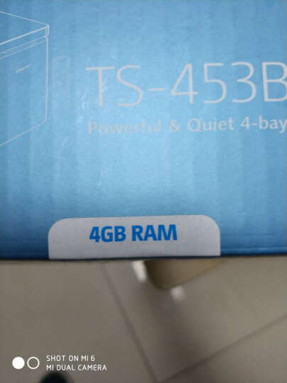 威联通(QNAP)TS-453A 4G内存 四盘位网络存储器NAS 四核处理器 (无内置硬盘)  晒单图