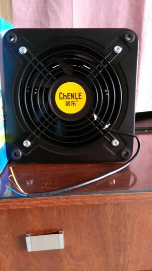 晨乐FZY200-2E/8寸壁挂式窗式外转子排气换气通风排扇大功率抽风机强力工业排风扇排烟轴流风机 晒单图