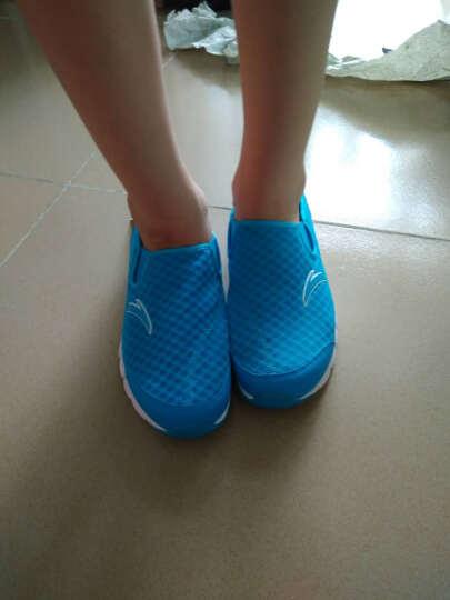 安踏童鞋儿童运动鞋夏款男童溯溪鞋31625519 奥运蓝/安踏白/荧光绿 39码/24.5cm 晒单图