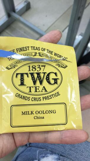 新加坡原装 TWG茶包礼盒15小包tea下午茶 精美包装送手提袋 1837红茶 1837 black 晒单图