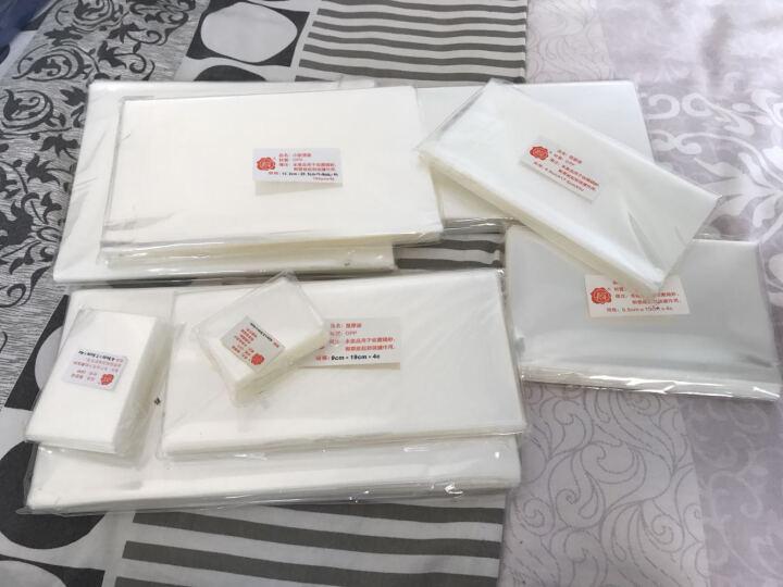 殷氏护邮袋  邮票保护袋  纸币保护袋 多规格可选一个尺寸100张装 首日封尺寸12.5*25 晒单图