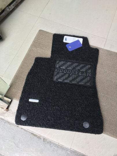 固特异(Goodyear)丝圈汽车脚垫 飞足系列 适用于奥迪A3/A4L/A6L脚垫 厂家定制直发 黑色 晒单图