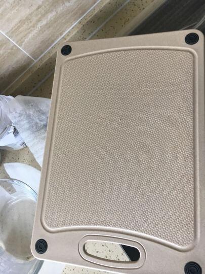 双庆(ShuangQing) 双庆 小麦菜板切菜耐用砧板水果案板塑料家用辅食面板 中号 晒单图