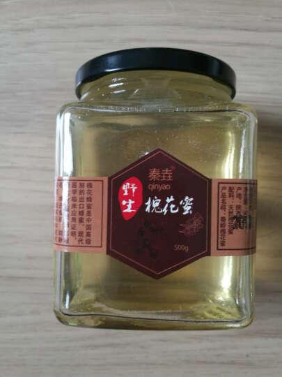 野生土蜂蜜纯正天然农家自产秦岭蜂蜜百花蜜深山结晶成熟蜜  原蜜无添加  玻璃瓶500g 深山土蜂蜜500g 晒单图