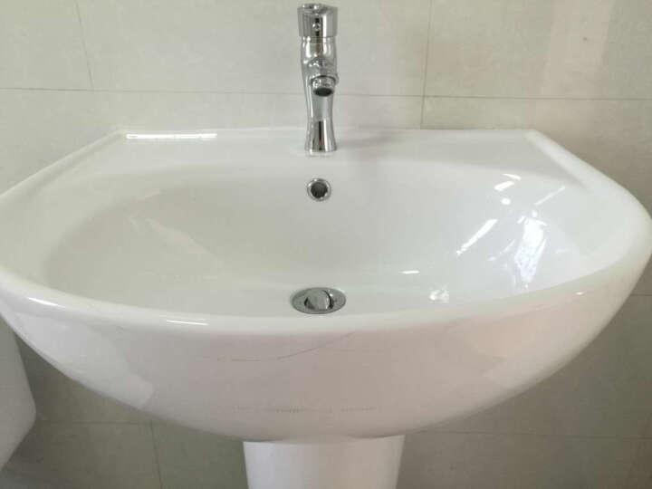 东鹏(DONGPENG) 立柱盆 洗手洗面盆 脸盆 柱盆 0365 W0425 不含龙头 15天内发货 晒单图