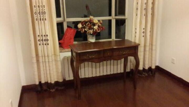 品之印韩式潮派实木梳妆台乡村复古玄关柜玄关桌化妆桌组合 梳妆台 晒单图