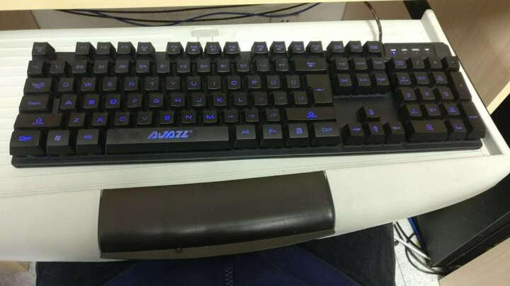 黑爵(Ajiazz) 机械战士 3色背光键盘 高端机械手感游戏背光键盘 办公 电脑 笔记本键盘 晒单图