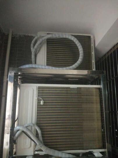 美的(Midea)舒适星 一级能效 无风感 全直流变频冷暖 智能WiFi圆柱柜机 立柜式空调 摩卡金 大3匹 冷暖 二级能效 晒单图