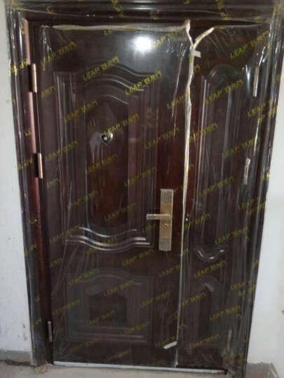 圣甲(SHENGJIA)甲级防盗门安全门 入户门 LP-B313钢质户外进户门户外门 门扇9公分现货 2050*1180外看左大扇 晒单图