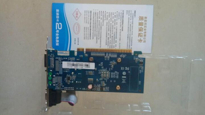 盈通(yeston)GT710 1G D3 静音版 954/1600MHz 1G/64bit/GDDR3显卡 晒单图