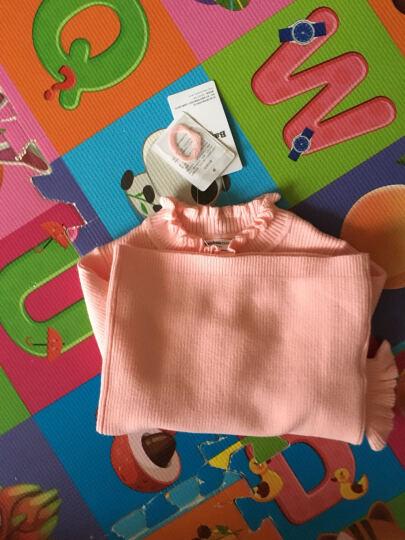 巴拉巴拉童装女童毛衣小童宝宝上衣冬装新款儿童针织衫女 梦幻粉 100 晒单图