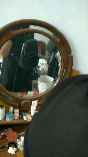 伊贝莎 2018新款头层牛皮双肩包女包真皮大容量背包简约休闲女士旅行韩版潮包 酒红色 晒单图