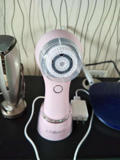 可思美(CosBeauty)声波洁面仪 电动净肤美容仪器 家用便携毛孔清洁洗脸仪  CB-016 粉 晒单图