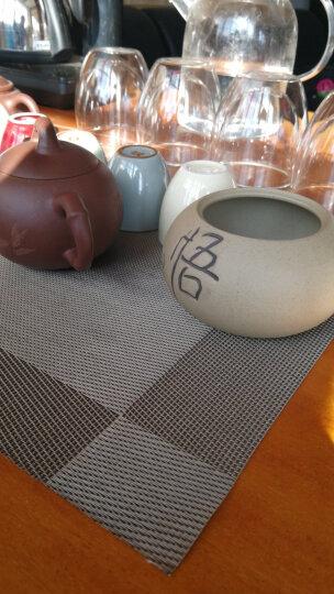 七陶 茶具粗陶茶叶罐陶瓷醒茶罐密封储蓄罐红茶绿茶小号普洱茶罐子 悟--粗陶茶叶罐 晒单图