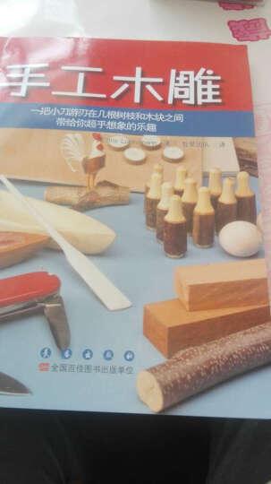 手工木雕:一把小刀游刃在几根树脂和木块之间带给你超乎想象的乐趣 晒单图