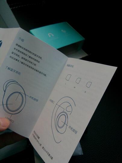 路信(losence) i3鲸 无线蓝牙耳机迷你超小隐形微型运动商务入耳式车载耳机 苹果/安卓华为vivo小米通用 黑色 晒单图