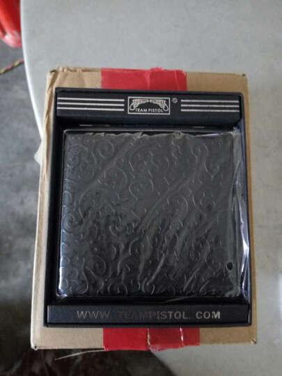 创意超薄烟盒皮 防潮防压金属烟盒20支装薄香烟盒20支复古香烟盒香烟壳烟盒子 唐草花纹 晒单图