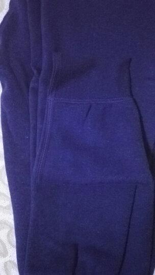 南极人保暖裤男士单件加厚加绒裤含羊毛护膝裤修身打底秋裤冬季棉裤内穿衬裤线裤 深灰 (175/100)XL 晒单图