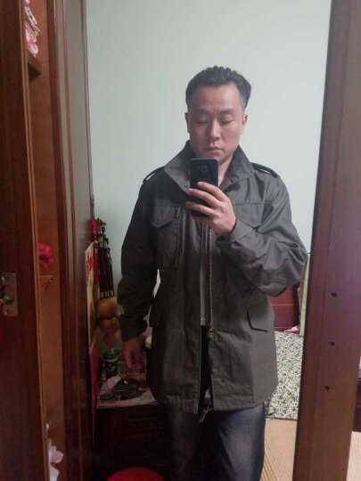 阿尔法(ALPHA) 阿尔法 Alpha美军M65风衣经典夹克外套男 美军大衣 铁血君品 黑色 L 晒单图