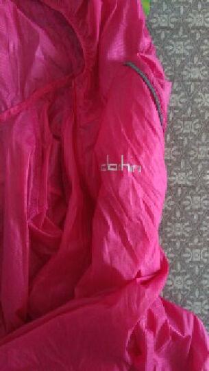 卡鲁森(clothin) 速干防晒皮肤衣男女轻薄透气春夏情侣户外皮肤风衣 CD13001 女款湖蓝A款 XL 晒单图