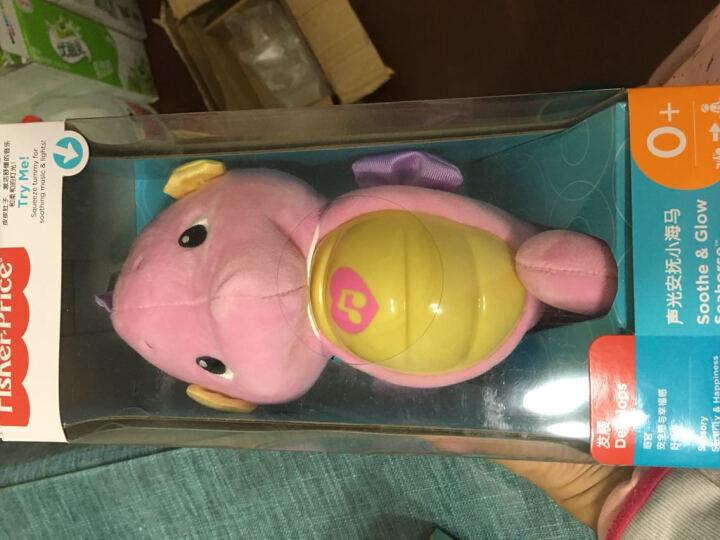 费雪牌(Fisher-Price) 海马安抚玩具婴儿玩具0-1岁益智宝宝毛绒玩具早教益智 小狗皮皮多功能学习桌BJV34 晒单图