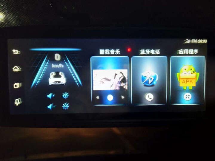 丁威特 高清智能声控导航仪行车记录仪双镜头电子狗蓝牙wifi升级无光夜视停车监控倒车影像后视镜一体机 套餐一 10英寸单镜头前录无导航声控功能 晒单图