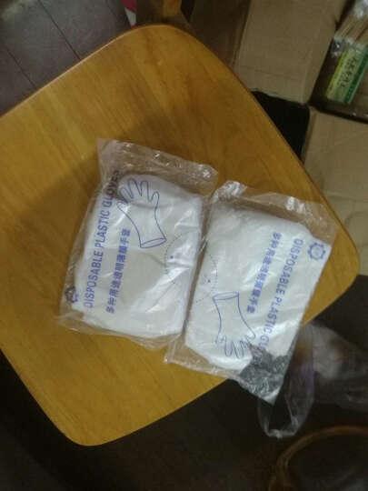 欧客欣(AUKEWIN) 手套 一次性手套 pe薄膜塑料手套 美容美发 100只/包 普通款 晒单图