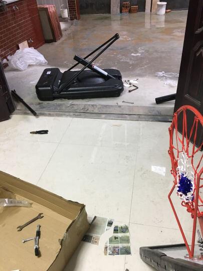 美科MOREKO 篮球架成人标准户外篮球架移动式升降式室内篮球架 三色篮球网 晒单图
