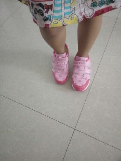 女童鞋春秋款新品儿童鞋运动鞋小女孩网面透气休闲鞋小学生中大童跑步鞋 818紫色网面透气 36码内长约23cm 晒单图