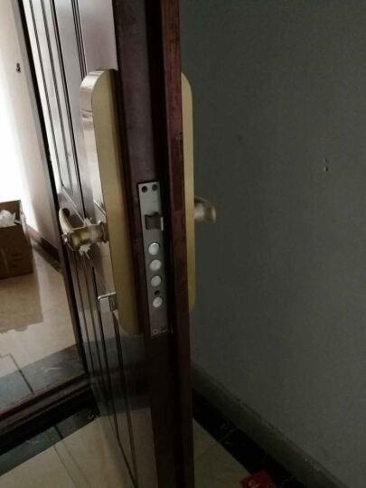 创维(Skyworth) 创维指纹锁 密码锁黄铜刷卡锁家用防盗门锁C1 铜本色【全国无忧安装】 晒单图