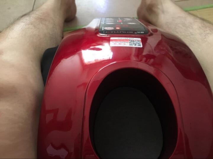 舒元足疗机腿部脚部足部脚底足底小腿家用按摩器 美足宝美腿机 红色加热款 晒单图