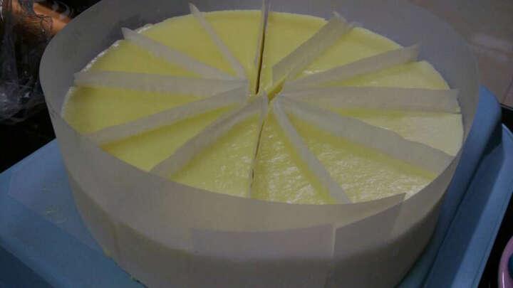 7式 情人节蛋糕 榴莲芝士 800g 12片烘焙蛋糕 晒单图