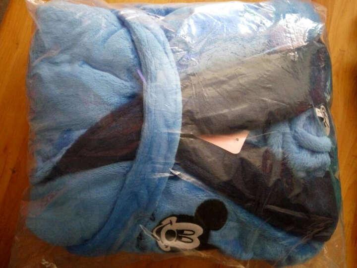 仪静纤雅 儿童睡衣 男女中大童加厚加长款浴袍珊瑚绒家居服加大码睡袍秋冬新款 奶牛女童 女孩 XL(身高155-165cm) 晒单图