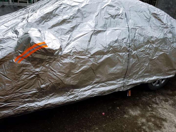 卡耐 铝膜防晒车衣2M(银色)适用于宝骏310雨燕奔奔FS全新Polo嘉年华等 具体以车型匹配结果为准 晒单图