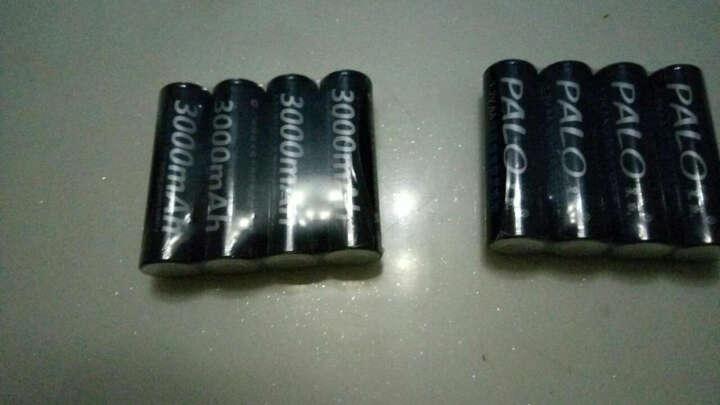 星威(PALO) 液晶智能快速充电电池充电器四槽可充5号7号镍氢镍镉AA/AAA电池 充电器+8节5号2600毫安充电电池 晒单图