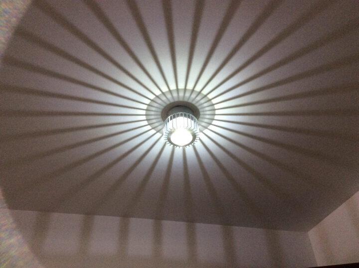 卡圣创意led过道灯具走廊灯玄关灯饰门厅灯走道客厅灯吸顶灯筒灯射灯简约现代0786 3瓦led白光明装 晒单图