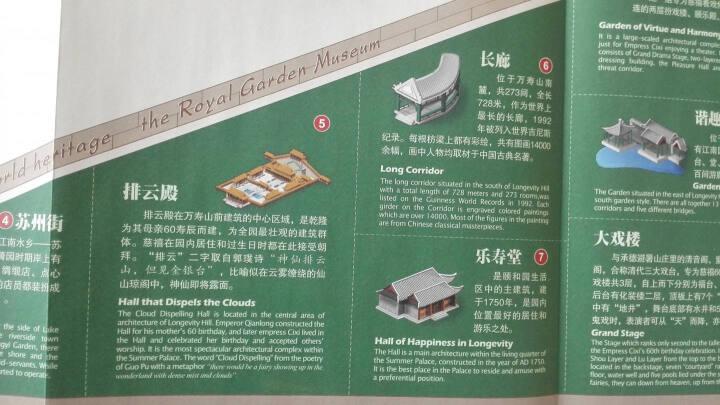 金松鼠旅游地图·我的北京之旅:颐和园(立体景观 中英文版) 晒单图