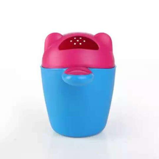 洗头椅儿童洗头椅洗头床加大可折叠调节宝宝洗头床婴儿洗发躺椅洗头椅 巨无霸粉红色 晒单图