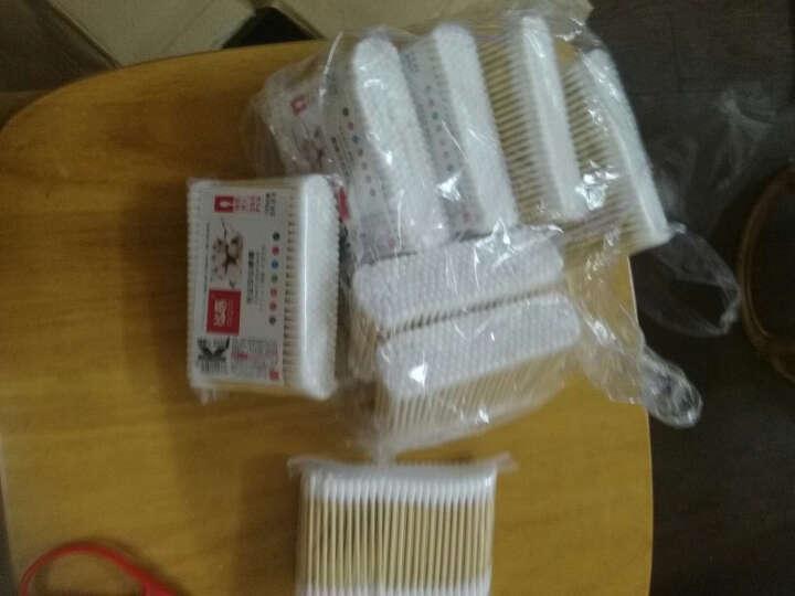 欧客欣(AUKEWIN) 棉签 棉棒 木棉签 木棉棒 护理棉签 袋装棉签 挖耳朵棉签 约200支装 晒单图