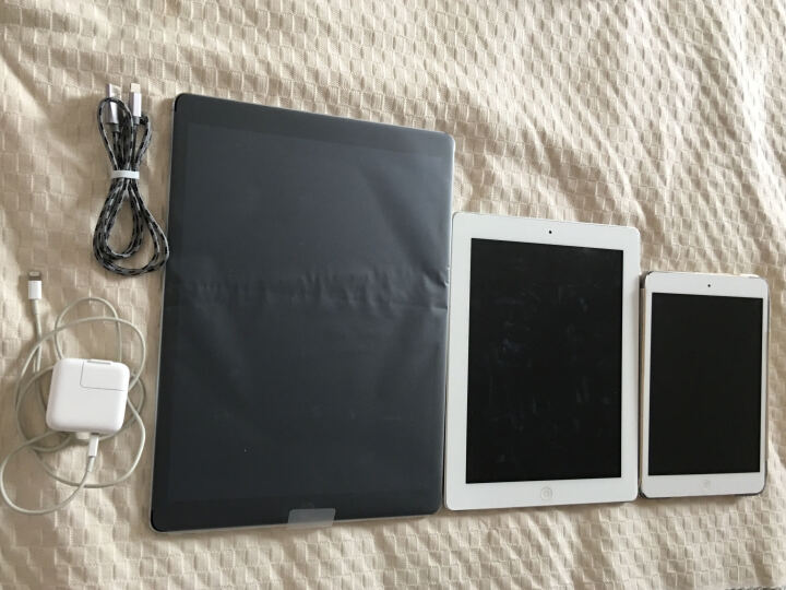 【二手95新】Apple iPad Pro 平板电脑 12.9 英寸 WLAN版 深空灰色 WiFi版 32G 晒单图