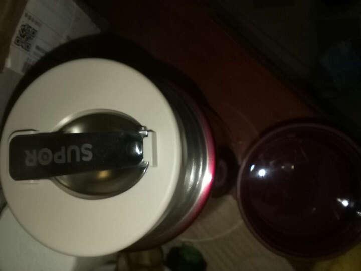 苏泊尔(SUPOR)焖烧杯焖烧壶不锈钢真空闷烧保温杯焖烧罐女士便携宝宝辅食粥饭盒 魅惑红1000ml 晒单图