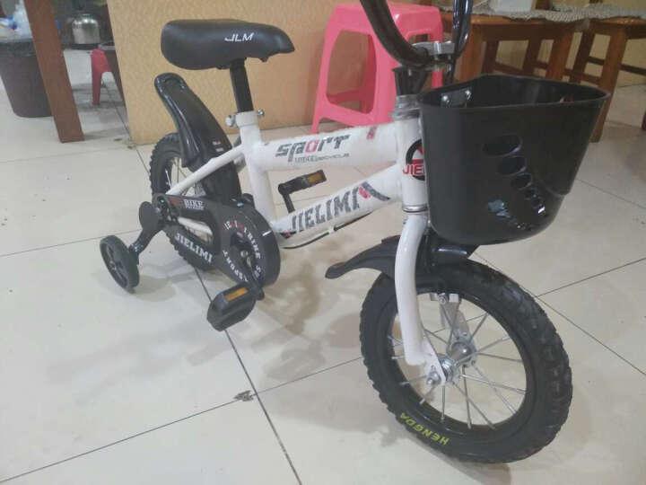 杰里米(Jielimi) 男女童车儿童自行车14寸16寸带辅轮 3/6/8岁小学生单车 新款黄色18寸 晒单图