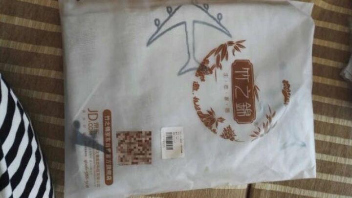 竹之锦 毛巾家纺 纯棉提花三层纱布儿童小毯子包被宝宝婴儿浴巾 飞机 90×90cm 晒单图