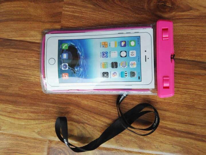 希途(Citoor) 手机防水袋大屏手机5.7寸 C2P32防水包游泳配件 粉红色 晒单图