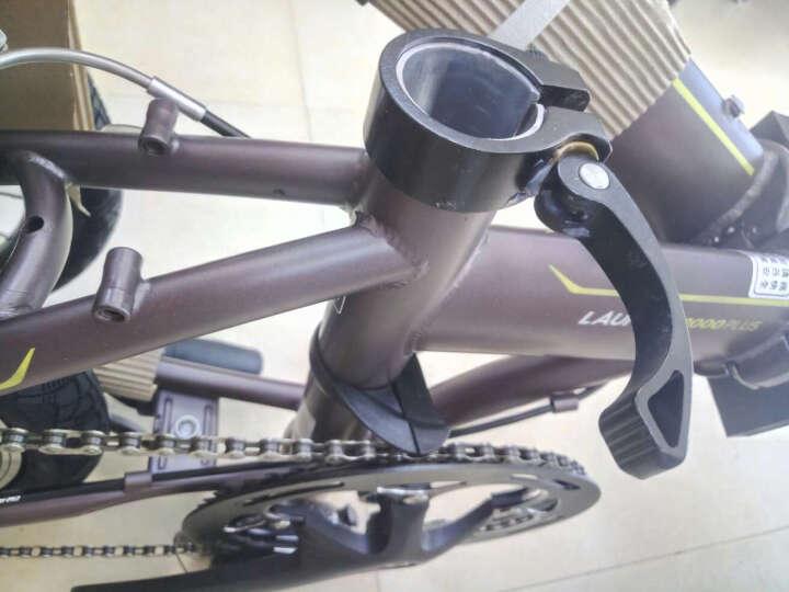 大行(DAHON) 折叠自行车20寸8速成人超轻男女式单车P8青春版KAC082 丽面黑 晒单图